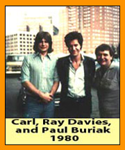 Carl, Paul, and Ray Davies